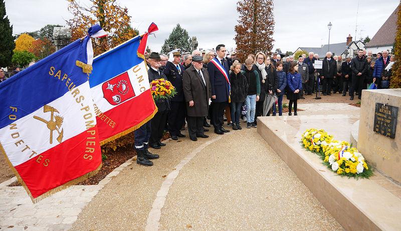 Ville de Fondettes  Commémoration du 11 novembre 1918 429f322b593